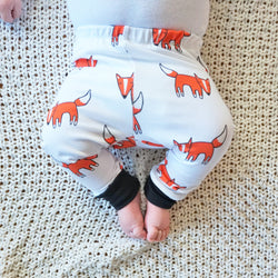 Fox Leggings, Pants   The Homemade Kid