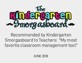 "Recommended by Kindergarten Smorgasboard to Teachers:  ""My most favorite classroom management tool"" JUNE 2018"