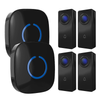 Crosspoint Model C | Wireless Doorbell Set - 2 Receiver + 4 Buttons - SadoTech