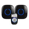 SadoTech Custom Text Label Doorbell - Revopure