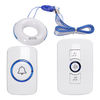 SOS Necklace Caregiver Set - Doorbell for Deaf with Flashing Light - SadoTech