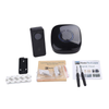 FULL HOUSE WIRELESS DOORBELL SET - 1 RECEIVER + 4 BUTTONS - Revopure