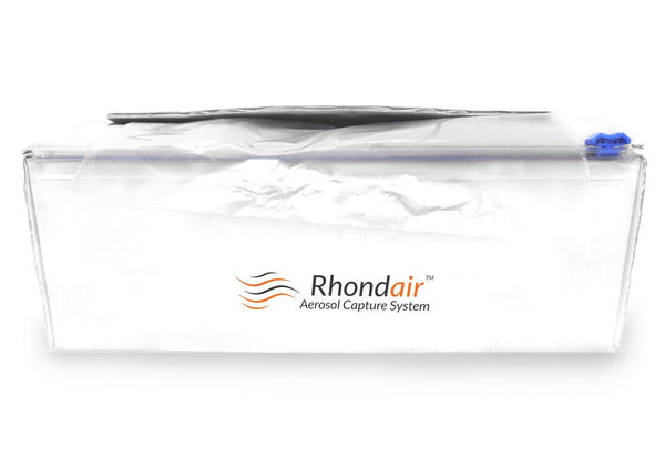 Rhondair Duct Sleeve Protective Film 50yd Roll & Dispenser