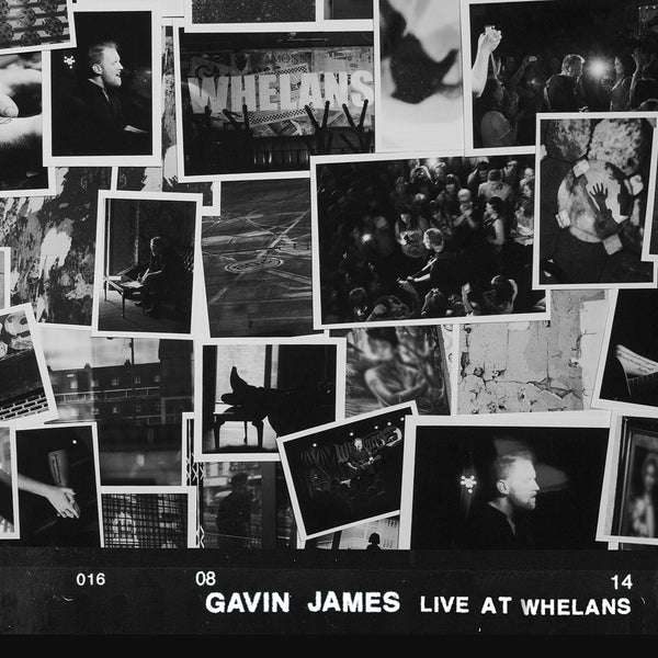 Gavin James Live At Whelans CD