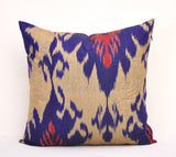 20 x 20 Uzbek Silk Cushion Covers