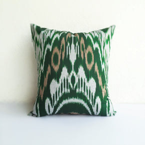 16 x 16 Uzbek Silk Cushion Covers