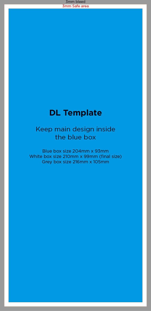 Download DL Template – UKPRINTHOUSE