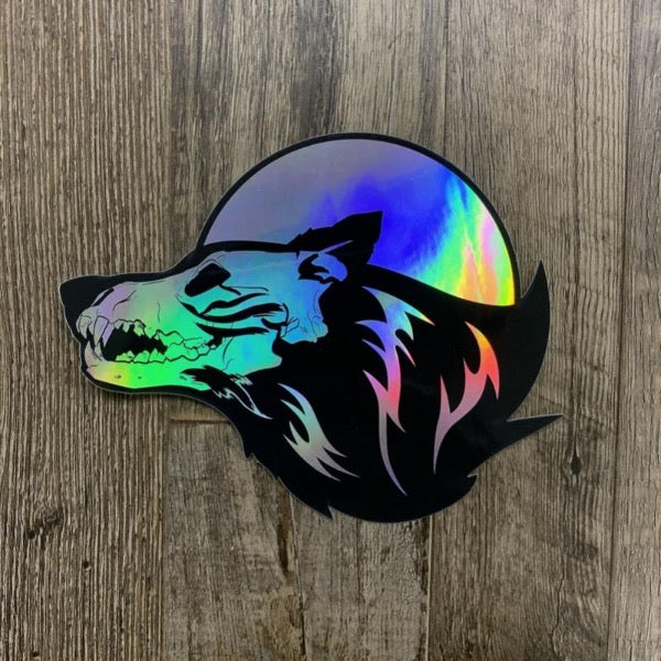 """Skelewolf"" Sticker"
