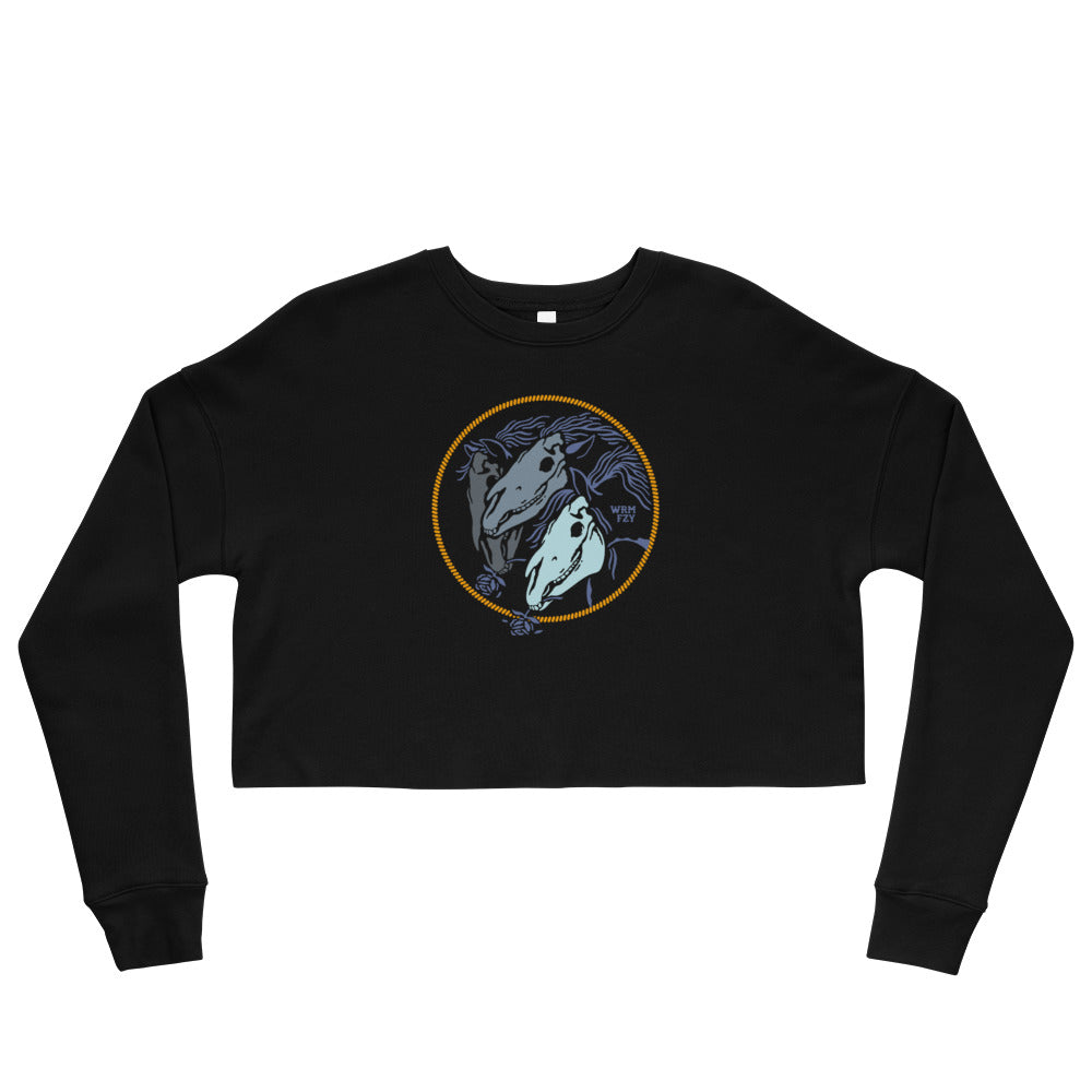 """All the Pretty Horses"" Crop Sweatshirt"