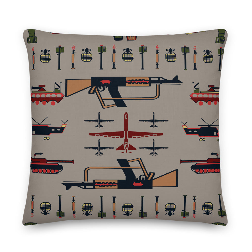 """War Rug"" Pillow"