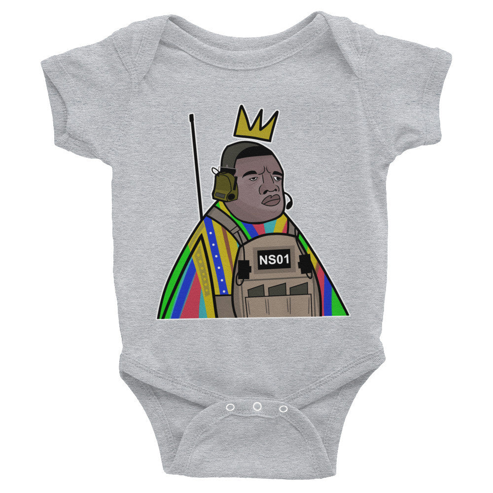 """Notorious 01"" Infant Bodysuit"