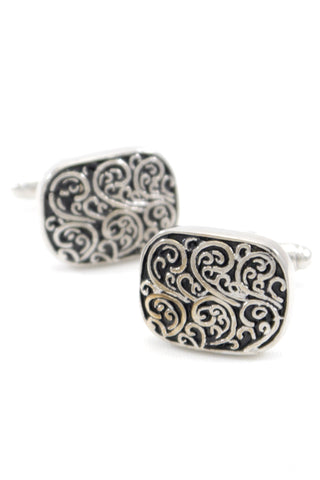 Silver Antique Cufflinks