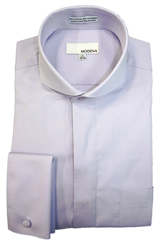 Lavender Cutaway Collar Dress Shirt