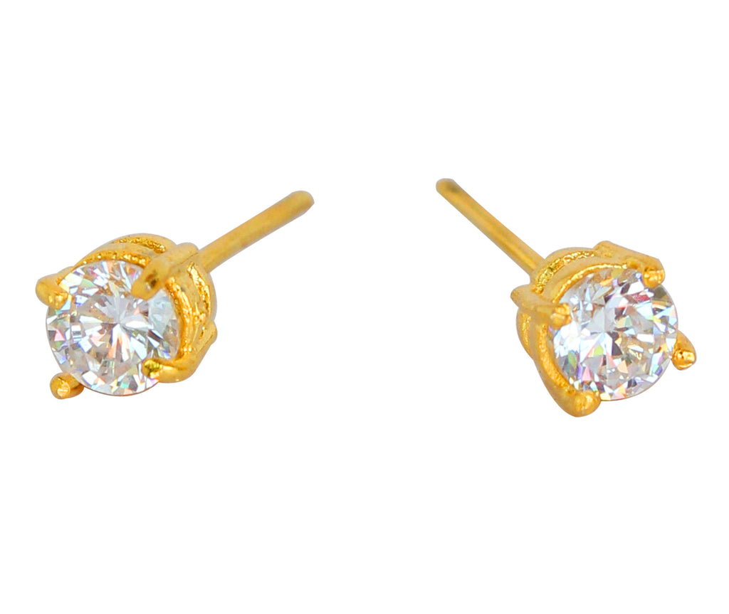 Touchstonecubic Zircons Earring- BBETGB66-01A--Y
