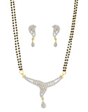 White Stunning Pretty Indian RichTraditional Mangalsutra- BBPSG996-01A--M