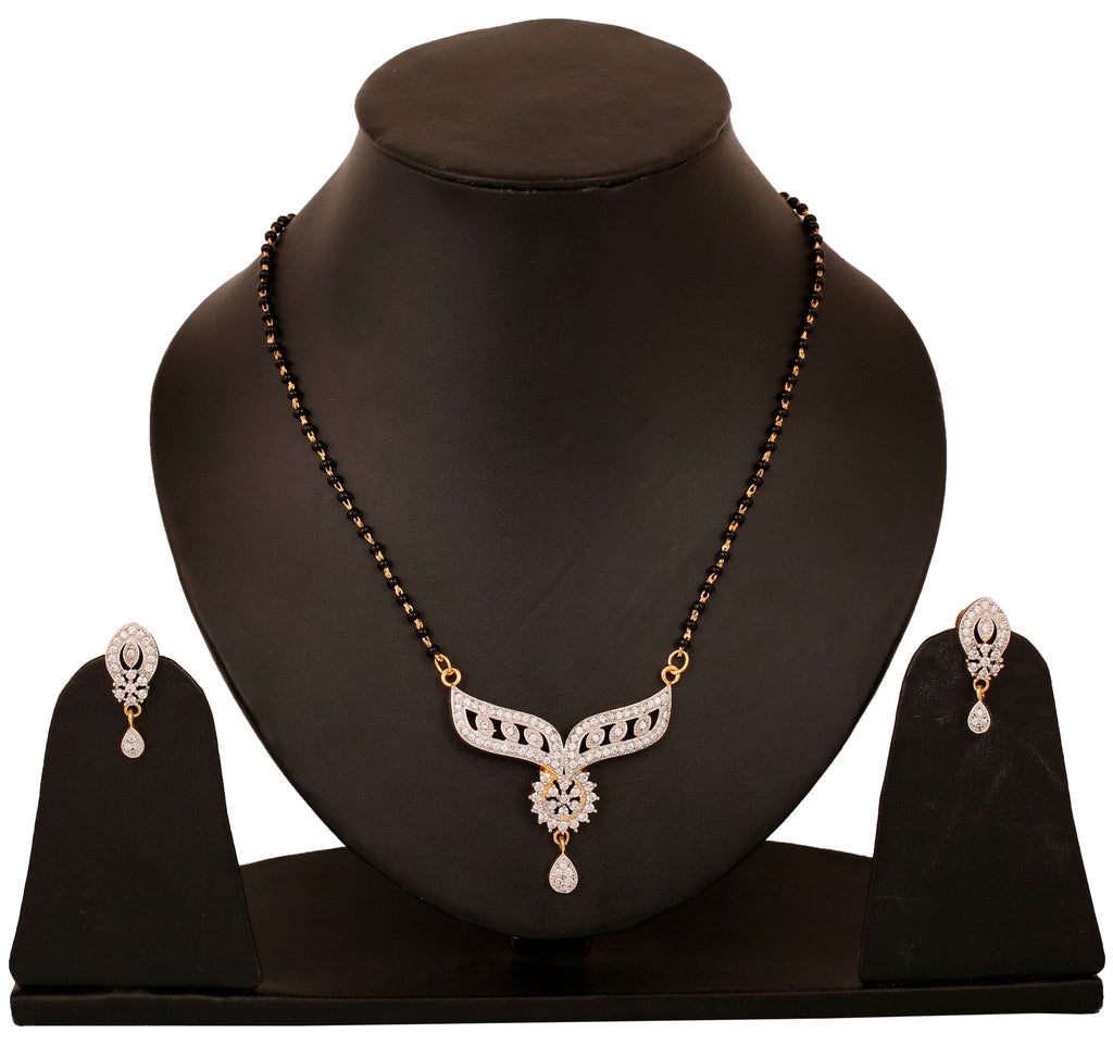Touchstone Black Brass Mangalsuta Set- BBPSGB15-01A--M