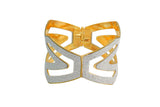 Touchstone Eye Catching Yellow Bracelet- DGBR-060-01---M