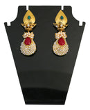 Touchstone Wonderful Bridal Hanging Earrings- DGET-287-01PREG