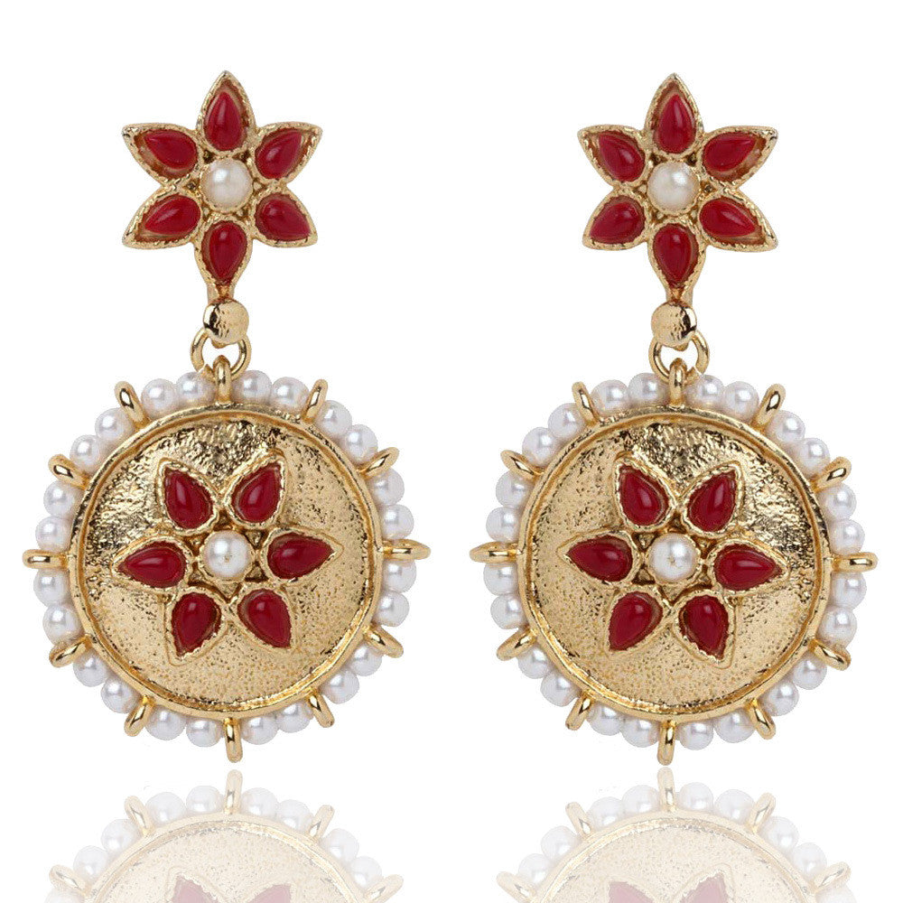Ruby Earrings By Touchstone- DGET-302-01APRG