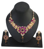 Touchstone Gold Necklace Set- DGNSE251-01AKMY