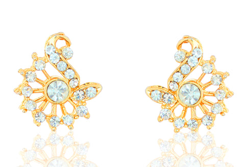 Austrian Diamond Earrings By Touchstone- FGETA010-01A--Y