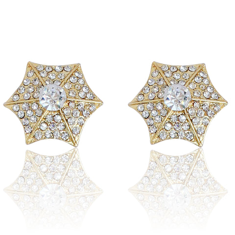 Austrian Diamond Earrings By Touchstone- FGETA021-01A--Y
