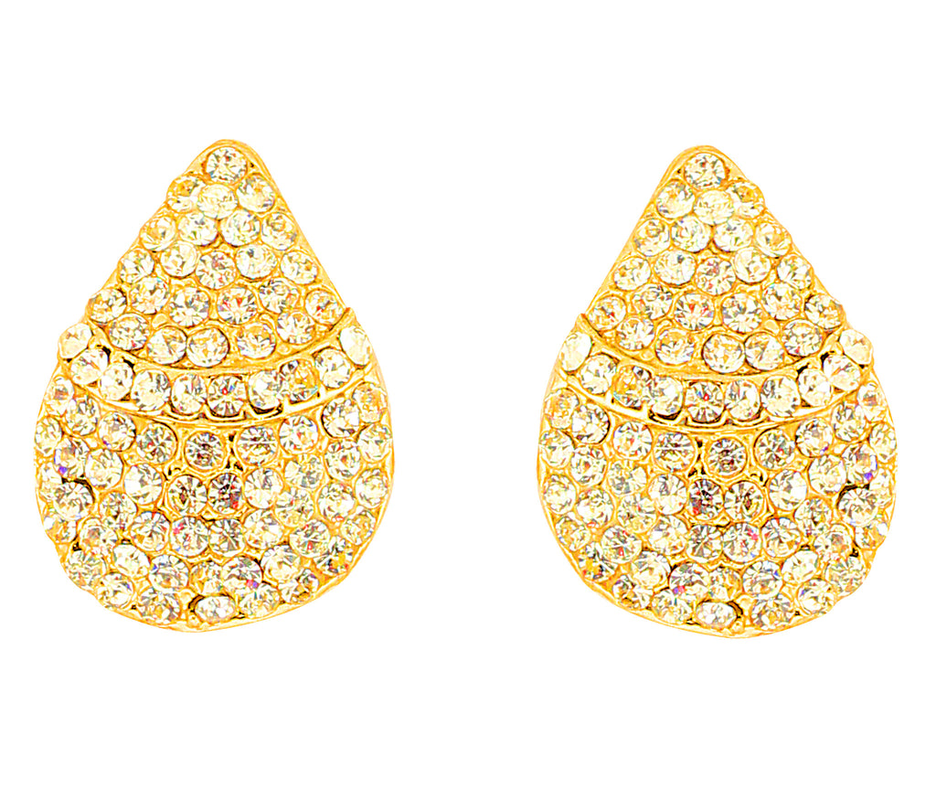 Austrian Diamond Earrings By Touchstone- FGETA120-01A--Y