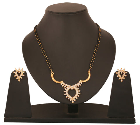 Touchstone Enclosed Ad Mangalsutra Set- FGNSA043-01A--Y
