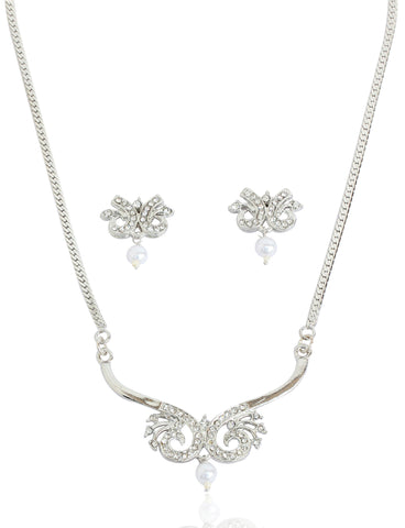 American Diamond Mangalsutra By Touchstone- FGNSL002-03A--W