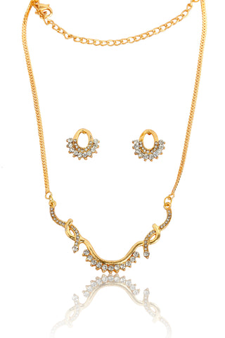 American Diamond Mangalsutra By Touchstone - FGNSL005-02A--Y