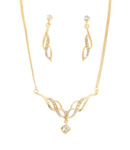 Touchstone Exclusive Design Ad Necklace Set- FGNSL011-02A--Y