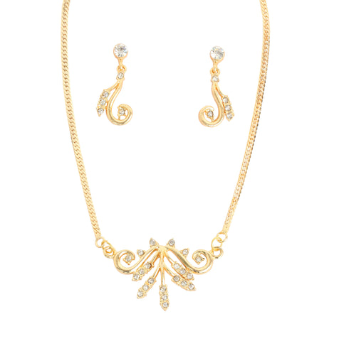 Touchstone Ornately Crafted Ad Necklace Set- FGNSL012-02A--Y