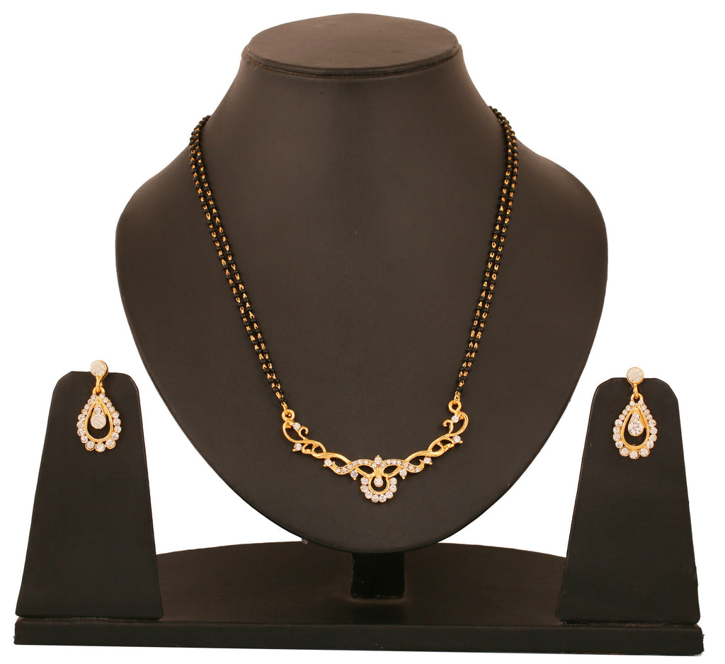 Touchstone Ad Drop Mangalsutra Set- FGNSL060-01A--Y
