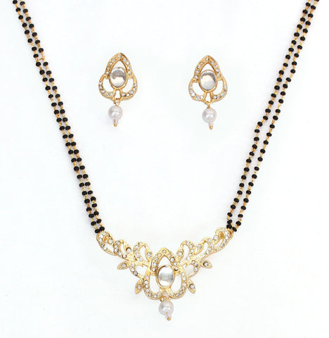 American Diamond Mangalsutra By Touchstone - FGNSL114-01AK-Y