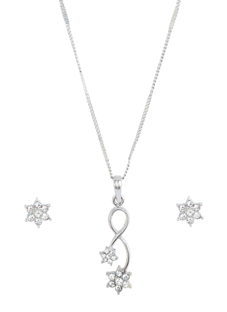 Cute and designer pendant set  by Touchstone- FPPS-453-02A--W