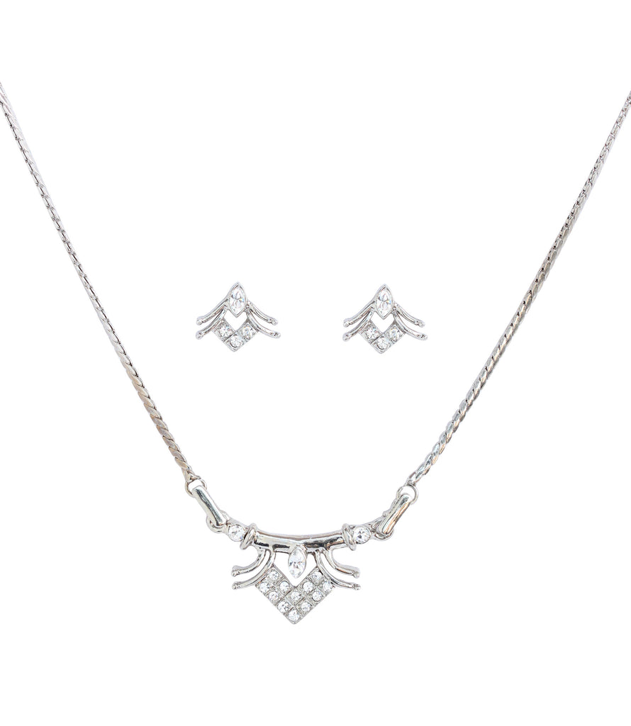 Cute and designer pendant set  by Touchstone- FPPS-458-02A--W