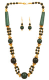 Artistically Designed, Rich & Colourful Bead Necklace Set by Touchstone- GMNS-110-04---Y