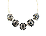 Rhinestone Necklace By Touchstone- GMNS-313-04AB-Y