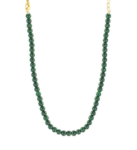 Touchstone Ecstatic Emerald Bead String- GMST-307-02----