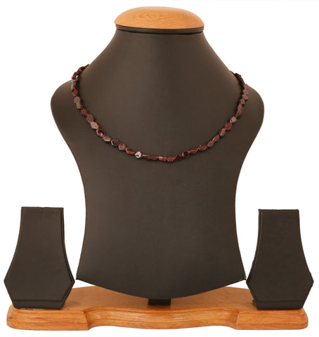 Natural Garnet String by Touchstone- GMST-833-01---Y