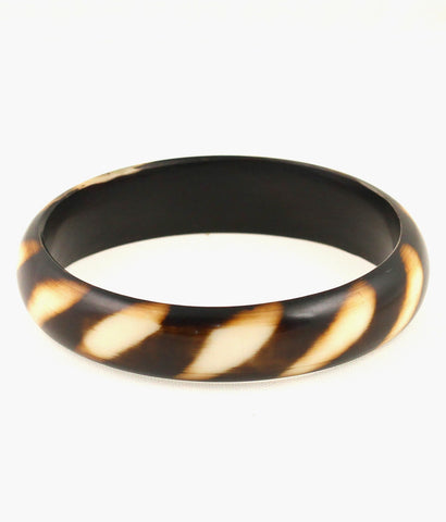 Touchstone Absolutely stunning resin bangle with fine lustre- KRB--614-01----