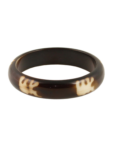 Touchstone Absolutely stunning resin bangle with fine lustre- KRB--989-03----