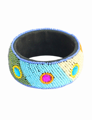 Touchstone Wooden Bangle- KRB--A08-01----