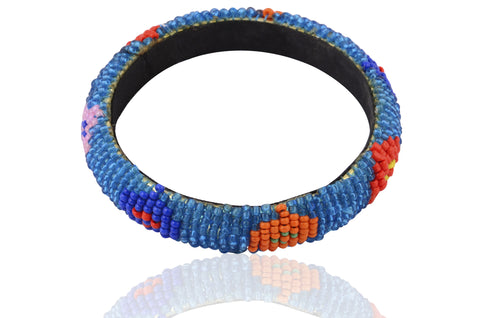 Touchstone Colourful Beads Bangle- KRB--A12-01----