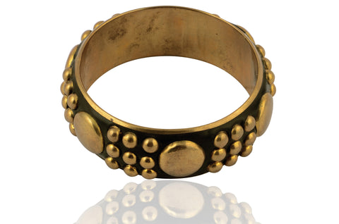 Touchstone Beautifully Embossed Bangle- KRB--A35-01----