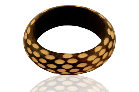 Touchstone Inlay Work Bangle- KRB--A64-01----