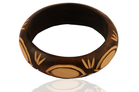 Touchstone Handmade Traditional Bangle- KRB--A66-01----