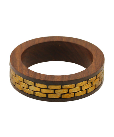 Beautiful wooden hand  crafted bangle by Touchstone- KRB--A78-01----