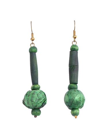 Hand made earrings by Touchstone- KRETG796-01----