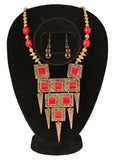 Studded Necklace Set By Touchstone - KRNS-205-01----
